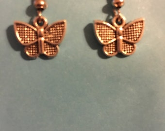 Small Butterfly Earrings   O75