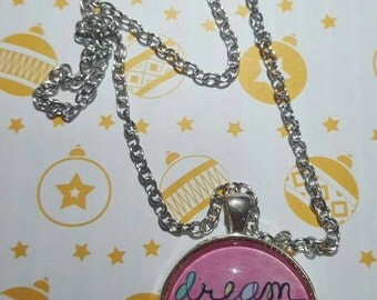 Themed inspirational cameo necklaces
