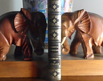 Former elephant bookends