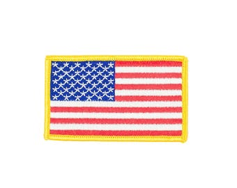 American Flag Vintage Patch