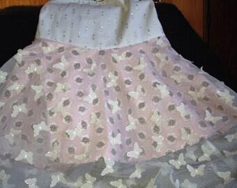 Designer Butterfly Rose Dress, Toddler Dress, Girls Dress, Halter Dress, Baby Dress