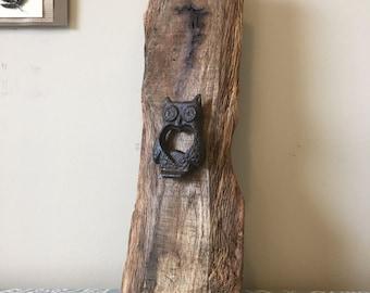 Owl Bottle Opener - Reclaimed Wood