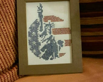 "Framework ""Statue of liberty"""