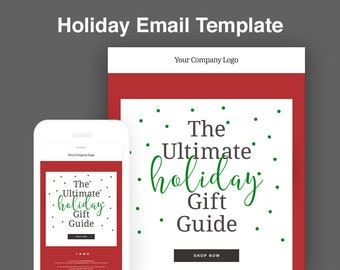 Email blast template etsy for E blast templates free