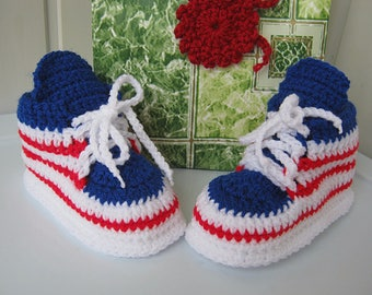 Booties, knitted booties, baby booties, slippers, Boots with laces, children's shoes, baby gifts,  knitted boots, ready for shipment