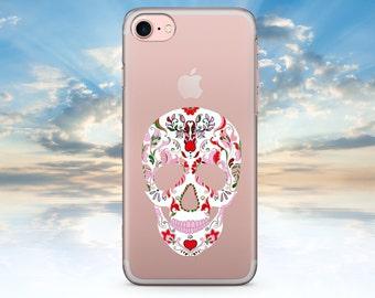 iPhone 7 Case Skull iPhone 7 Plus Case iPhone 6 Case Clear iPhone 6S Case Clear iPhone SE Case Transparent iPhone 6S Plus Case Clear