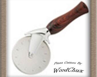 Premium Pizza Cutter Kit Stainless Steel Wood Turning Woodturning Lathe