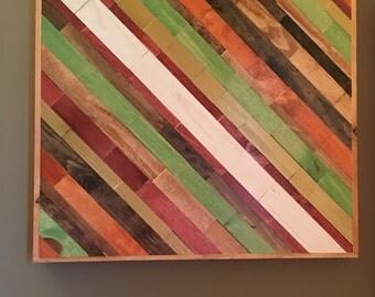 Wood Wall Art - Ready to Ship - FREE SHIPPING