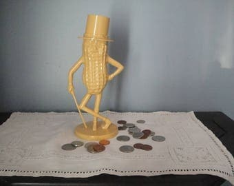 Less than perfect Mr. Peanut bank