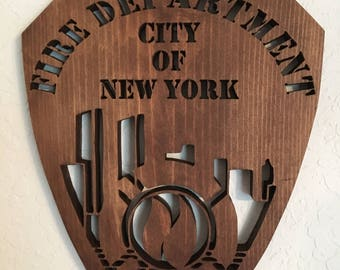 NYC Fire Dept shield