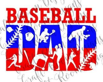 Baseball Dad Digital Design