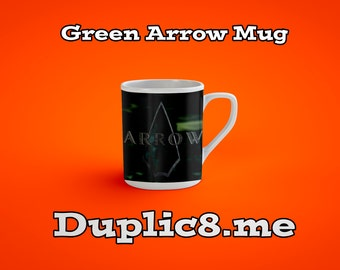 Custom Green Arrow mug