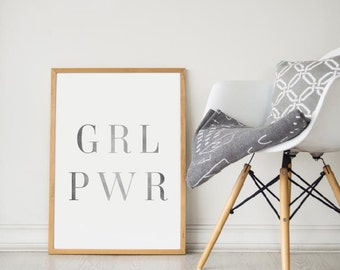 Printable Wall Art Prints,Printable Quotes,Digital Print,Digital Download,Feminist Quote,Modern Decor,Dorm Decor,Urban Outfitters,Girl Power