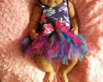 Tutu with matching hair bow