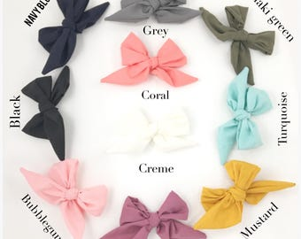 Sailor bows, bow headbands, big bows