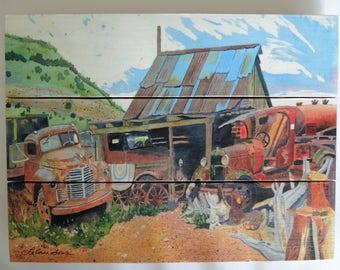 Junk Yard Trucks