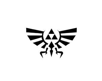 Legend of Zelda Decal - Triforce / Legend of Zelda / Zelda Art / Zelda Decal