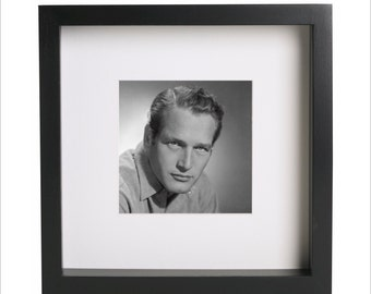 Paul Newman photo print | Use in IKEA Ribba frame | Looks great framed for gift | Free Shipping | #1