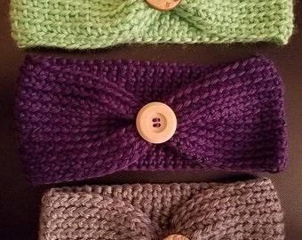 Crocheted Headband / Ear warmers