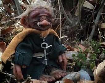 OOAK hobbit/troll doll