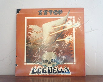 ZZ TOP Deguello LP Record 1979 Vintage