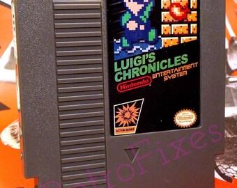 LUIGI'S CHRONICLES NES HomeBrew Game