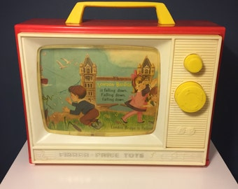 Vintage Fisher Price #114 Two Tune Music Box