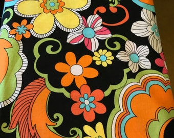 Windham fabrics, Feeling Groovy, bright colors