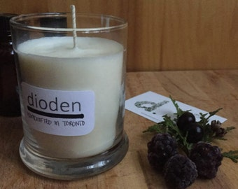 Blackberry & Patchouli Soy Candle