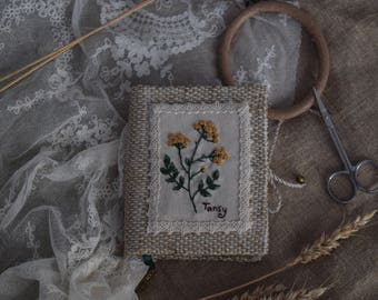 Tansy notebook