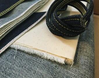 13 oz Denim kit for one pair of jeans