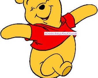 Winnie The Pooh, Crochet Pattern. Please Read the Description before making a purchase. PDF Instant Download.