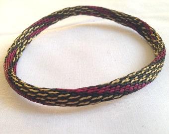 Bracelet African raffia handmade handmade woven