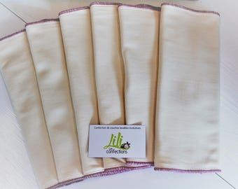 Bamboo/cotton inserts