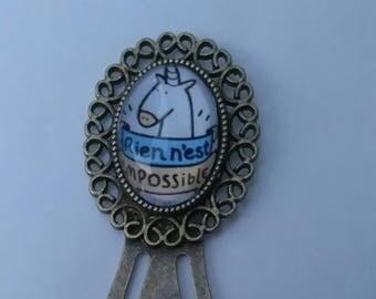 """small bookmark """"Unicorn"""""""