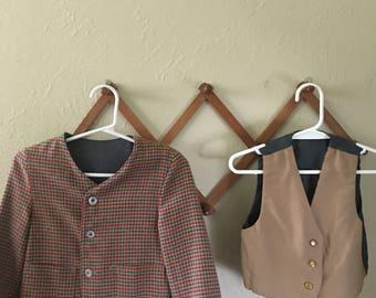 Reversible Jacket and Vest Set