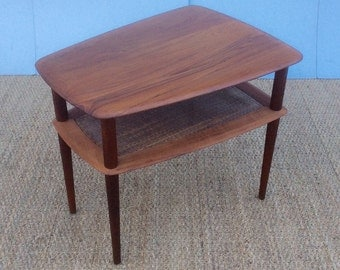 Danish Teak side / coffee table by PETER HVIDT for France & Son