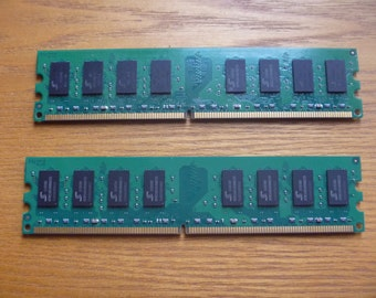 RAM memory sticks (2), crafting supplies, circuit board salvage