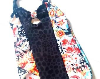 Rts, Animal, floral, one piece girls bathing suit, swim suit