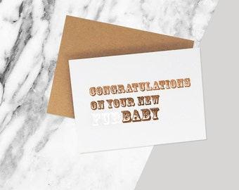New Furbaby Funny Card / New Puppy card / Congrats on your New Dog or Cat Card / New Pet Addition Card / Dog Cat Adoption Pet Card
