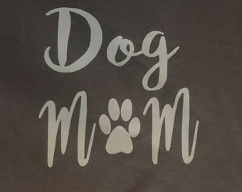 Dog Mom Tank Top, Dog moms- Different Colors Available!!!