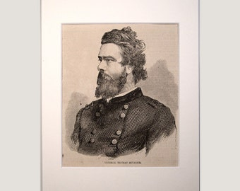 Federal Generals – Original Civil War Period Woodcuts – 1861-65