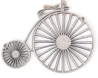 Vintage Bicycle Pendant (STEAM037)