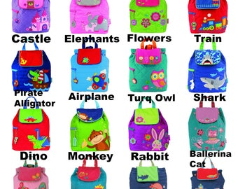 Kids backpack/toddler backpack/Stephen Joseph kids backpack/personalized backpack/preschool backpack