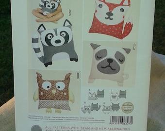 Animal Pillow Patterns To Sew : sewing pattern pillow animal ? Etsy