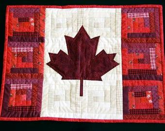 O Canada Flag Quilt
