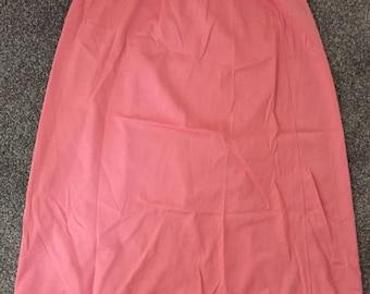 Cute peach petticoat/ vintage skirt!