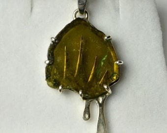 Brazilian Tourmaline Pendant(reduced)