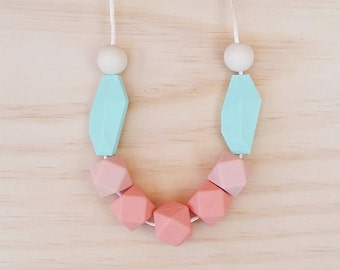 Sweet Colour Combo BPA Free Nursing Necklace