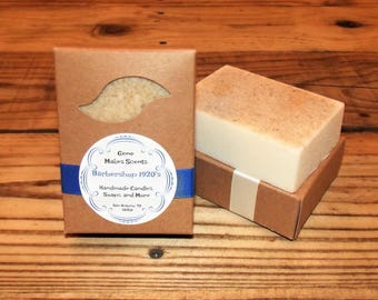 1920's Barbershop Style Fragrance Handmade 6.5 oz. Soap bar